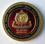 Монетки армии США металла военные с мягким цинком эмали/краски черным сплавляют материал