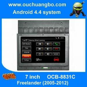 China Ouchuangbo 7 inch car dvd audio 1024*600 android 4.4 system for Freelander (2005-2012) support HD video RDS USB AUX on sale