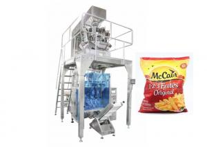 China Stainless Steel Automatic Frozen French Fries Packing Machinery on sale