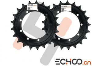 Quality High Strength 40Mn2 Mini Excavator Sprockets For Kubota RX303 Mini Excavator for sale