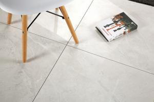 China Fashionable Large Ceramic Floor Tiles / Durable Sandstone Porcelain Tiles on sale