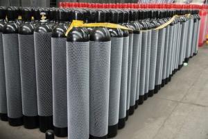 China 6m3 Oxygen Gas Cylinder Cheap Price Seamless Steel Oxygen Argon Nitrogen Acetylene Gas Cylinder on sale