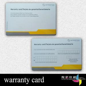 China Tarjetas plásticas impresas grabadas en relieve, tarjetas de visita amistosas de Eco on sale
