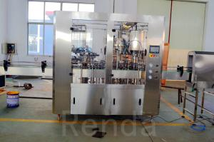 China 1000BPH Glass/PET Bottle Beer Filling Machine 3 In 1 Beer Filler 500ml Stainless Steel CE ISO on sale