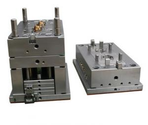 China Instrument Handle Single Cavity S136 Medical Injection Mold on sale