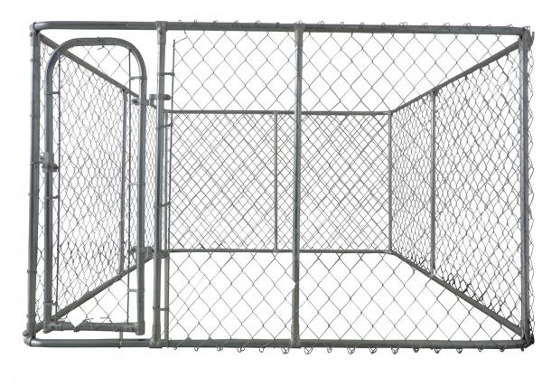 Weld Wire Dog Fencing black Powder Coated 25mmx25mm 6'height
