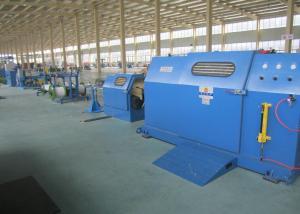 China Небесно-голубая машина заплетения провода с сердечником 3Пкс/кабеля с вращением конюшни 700Рпм on sale