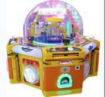 Kids Coin Operated Candy Arcade Machine Multi Players Colorful Lights