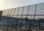 Welded security fence high security fence with razor wire or wall spike