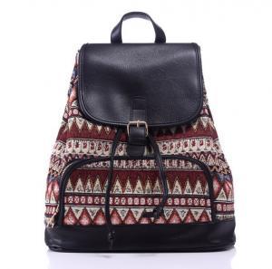 China 2016 new European and American popular handbag shoulder bag tide backpack canvas bag on sale