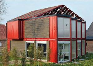 China Attractive Design Modern Prefabricated 40 Feet Modified Shipping Container Homes on sale
