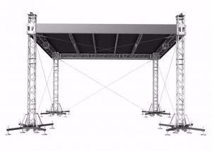 China Event On Stage Stands Truss Spigot Joint , 400 Kg Aluminium Stage Truss on sale