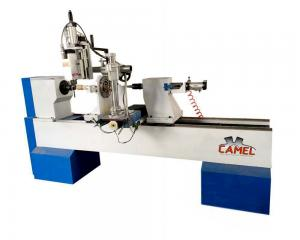 China professional CAMEL CA-1530 baluster/handrails/stairs/baseball bat making cnc wood turning lathe with spindle on sale