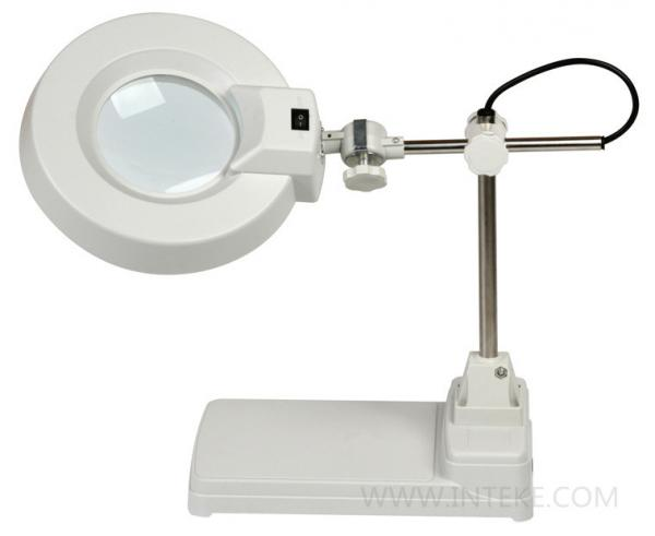 Lt 86b Magnifying Desk Lamp Lift, Magnifier Desk Lamp