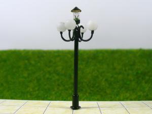 China T51 6V 5cm HO Luminous Street 3D Model Lamppost for Train Layout on sale