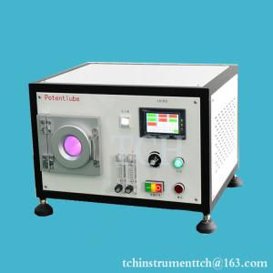 China Tabletop 2L Plasma Cleaner with stainless steel chamber for R&D Labs on sale