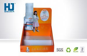 China Colorful Advertising Cardboard Display Box for Bottles,Calcium Tablet Countertop Display Box on sale