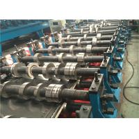 8-10m/min Storage Rack Roll Forming Machine , Gear Drive Steel Roll Forming Machine