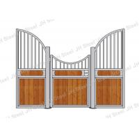 European Style Horse Stall Fronts Hot Dip Galvanized With Swing Feeder