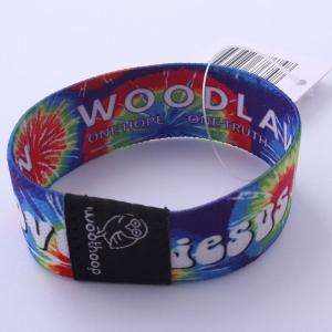 China Custom Size Colored Wrist Bands For Souvenir / Decoration / Activity on sale