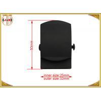 Custom 25mm Zinc Alloy Metal Belt Buckle For Men Environmentally Friendly