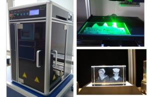 China Air Cooling Industrial Laser Engraving Machine Single Phase 220V or 110V Powered on sale