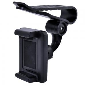 China Clip On Sun Visor Universal Car Mount Holder 360 Degree Rotation on sale