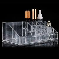 Transparent Acrylic Display Holders For Tattoo School , 12.5cm Width