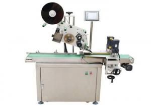 China Intelligent Plastic Caps Top Up Automatic Labeler Machine For Drinking Industry on sale