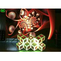 P5 box Flexible Stage LED Screen for Nightclub,  3D DJ led display in WIFI 3G