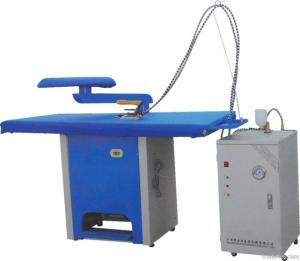 China Electric Garment Ironing Table With Steam Generator Hotel Laundry Machines on sale