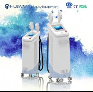 China Acne Treatment IPL SHR Hair Removal Machine With Two Handle on sale