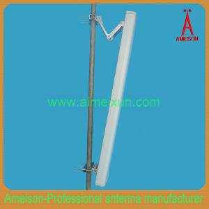 China 2.3-2.7GHz 2x16dBi 120 Degrees Spatial Diversity/X-Polarized Panel Sector Antenna on sale