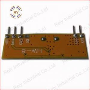 China 315/433.92MHZ ASK RF Module RXB7 wholesale