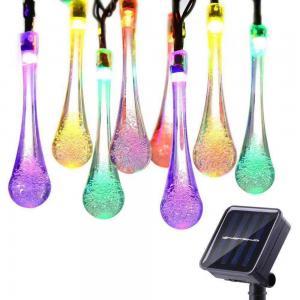 China 50 LED Decorative LED String Lights Steady Solar Flower Lights Ni-MH AA 600mAh Battery on sale