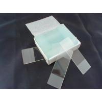 Square Medical Laboratory Supplies Microscope Glass Slides For Microscope Calibration
