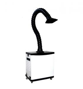 China 80W 110V Nail Salon Fume Extractor , Hair Salon Fume Extractor 425 X 250 X 480mm on sale