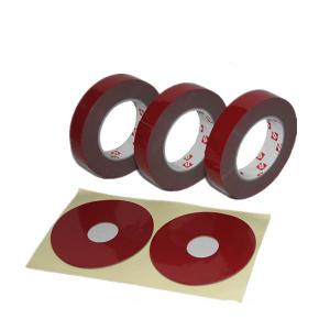 China Hottest at South America market green liner acrylic foam VHB tape similar to 3M VHB tape on sale