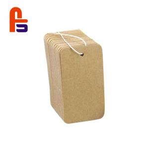 China Compact Size Custom Garment Product Hang  Environmental Friendly Cardboard Gift Tags on sale