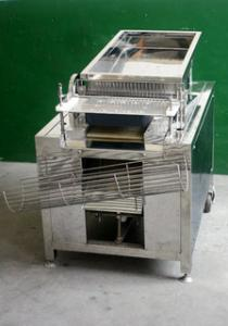 China Single Phase Food Processing Machineries For Quail Egg Peeler 150KG/H on sale