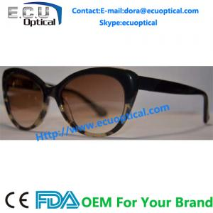 China 2014 New Hot Tip Pointed Vintage Acetate sunglasses women Inspired Sexy sunglasses leopard Cat Eye glasses on sale