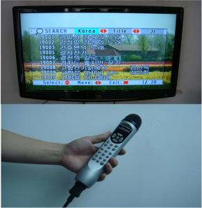 China portable all-in-one magic sing digital mic karaoke player on sale