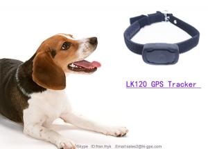 China China Manufacturer Real Time Portable Mini GMS/GPS/GPRS Pet Tracker LK120 on sale