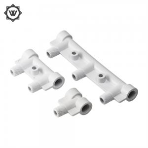China DME H13  Insert Injection Molding T - Branch Pipe Manifold Pipe Fitting Mould on sale