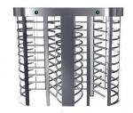 Puerta llena del control de acceso del acero inoxidable RFID del torniquete 304 de la altura
