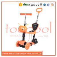 chinese 3 wheel kids children multifunction 5 in 1 kick scooter