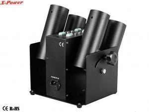 China canon électronique de confettis de feux d'artifice des têtes 100W quatre pour épouser le contrôle X-I-06 de la célébration DMX on sale