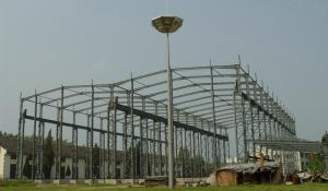 China High Strength Steel Building Structures for Workshop, Airports, High - Rise Buildings on sale