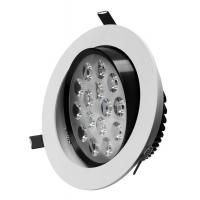 Milky White Recessed SMD3014 110V 20W 200MM Dia PF 0.9 Warranty 3 Years Dimming LED Downlights