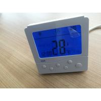 LCD  thermostat button control with electric heater function, for 2 pipe or 4 pipe fan coil units applications